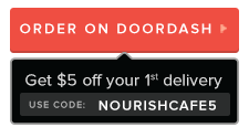 Nourish Cafe delivery with DoorDash