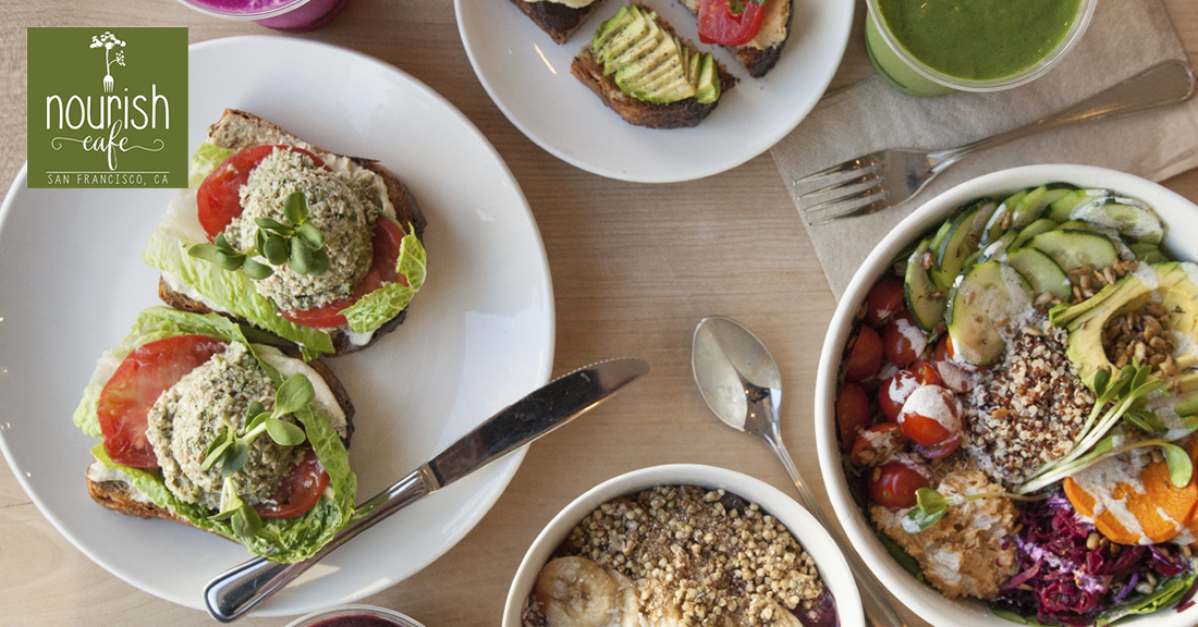 Nourish Cafe 100 Plant Based 2 Locations In San